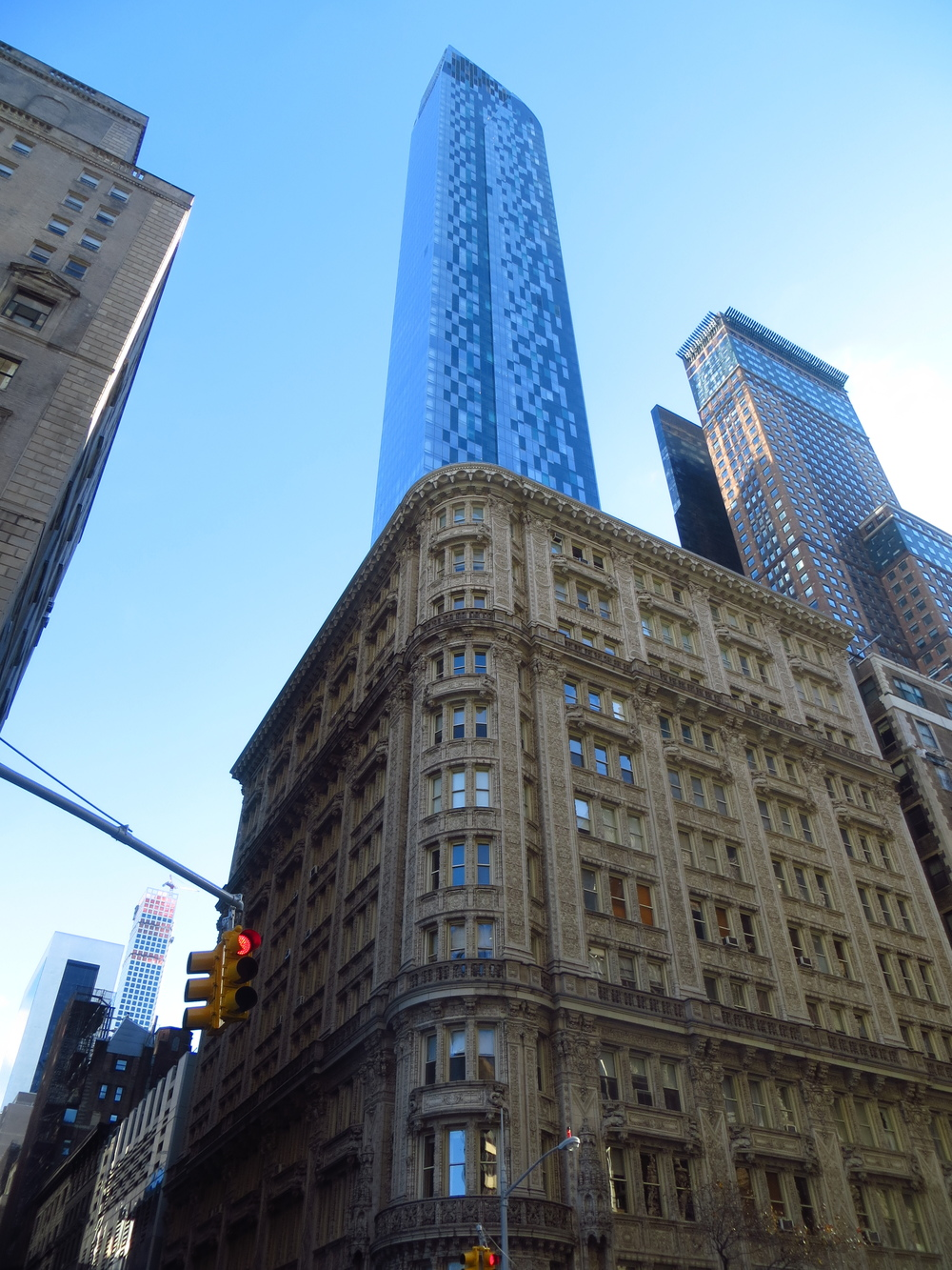 One57 over Alwyn Court Building