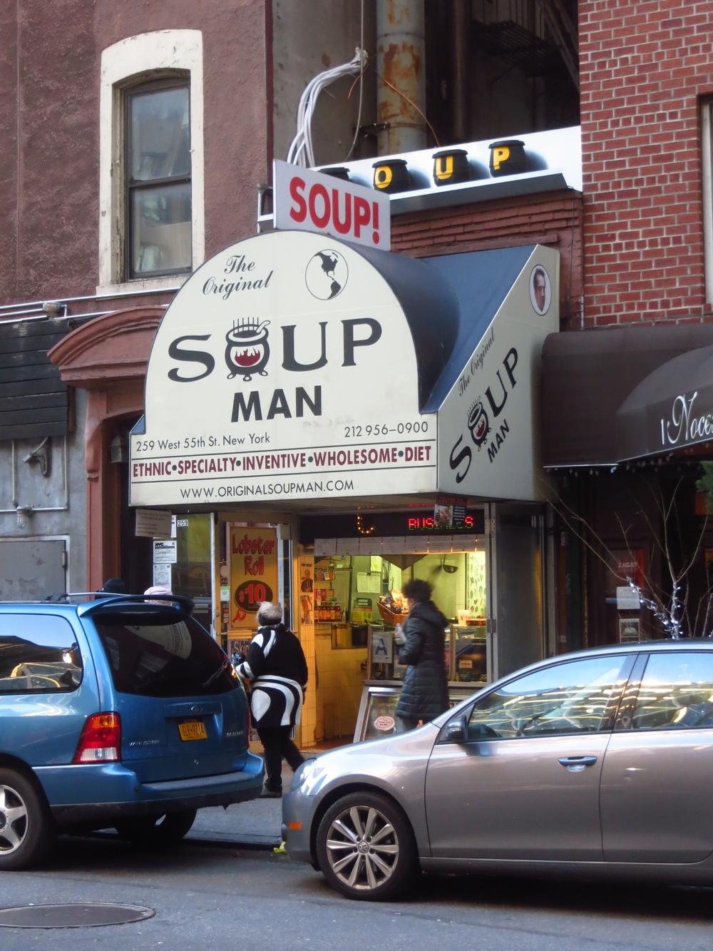 Soup Nazi inspiration