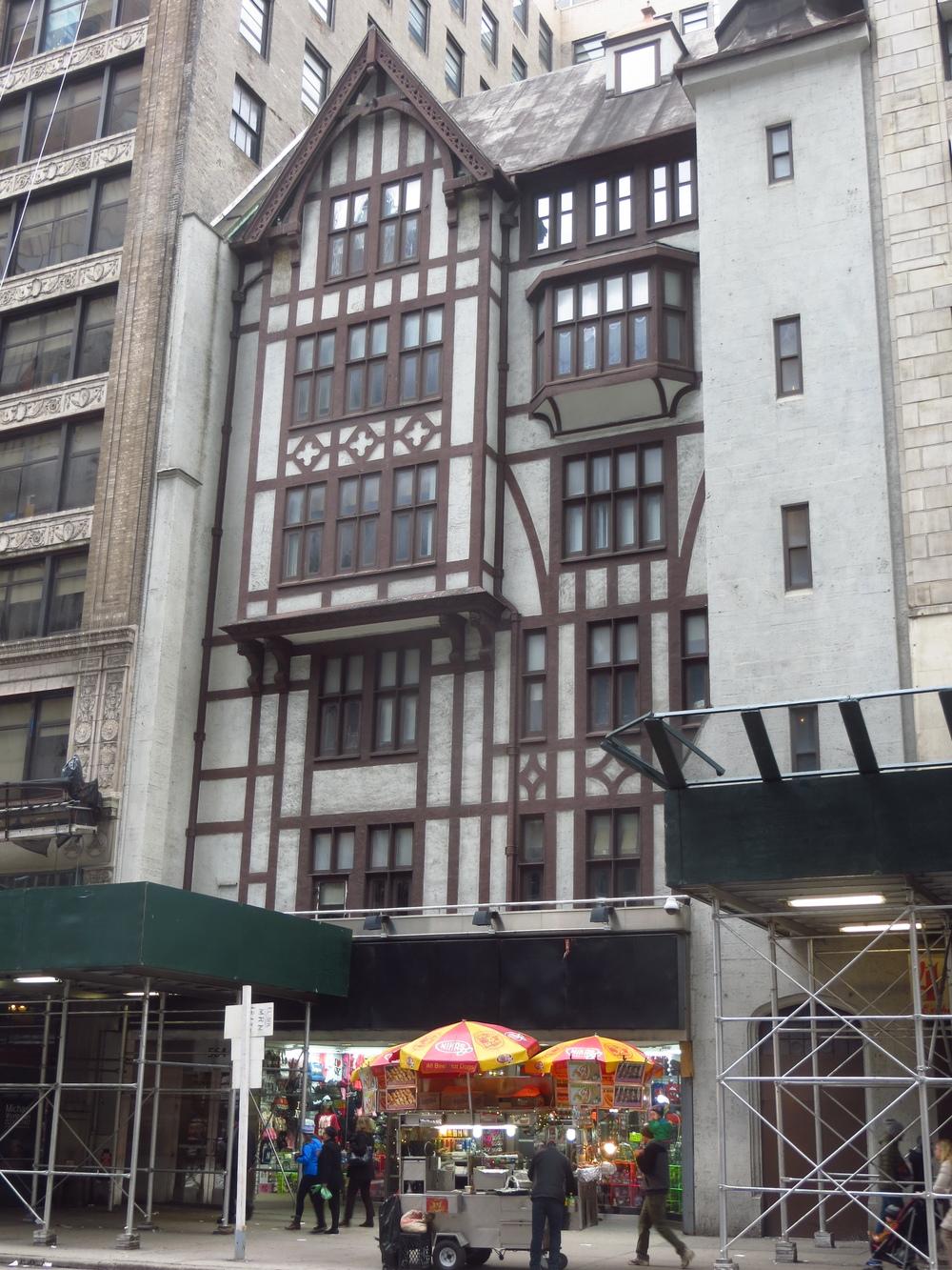 Incongruous Building