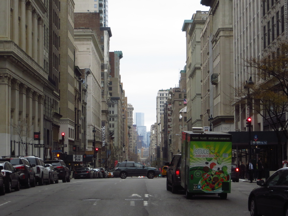 View down 5th Avenue