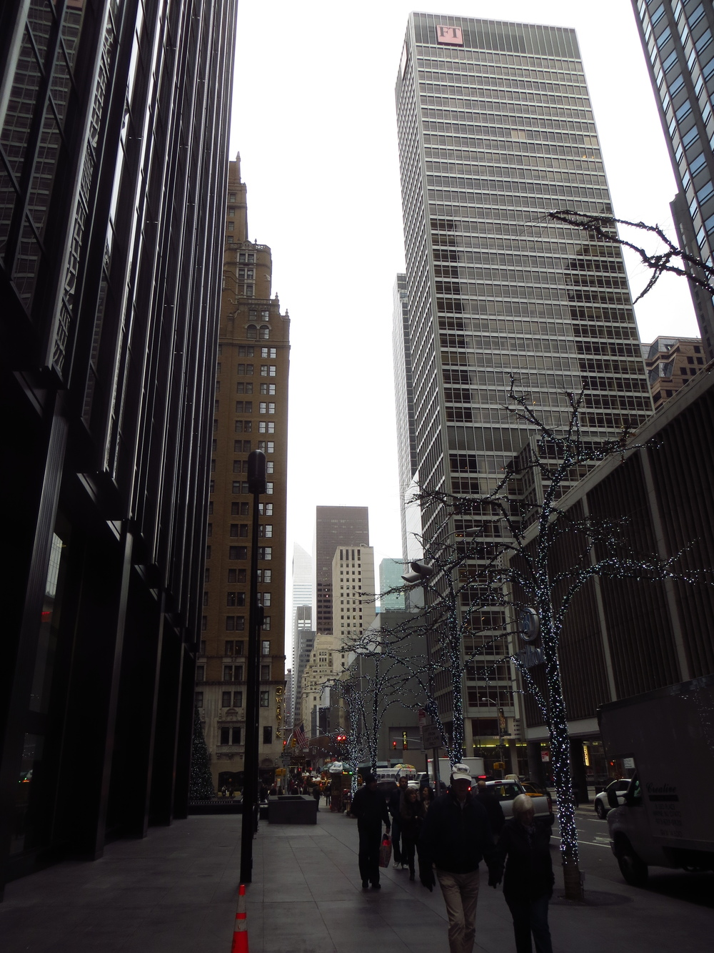 View down 54th St.