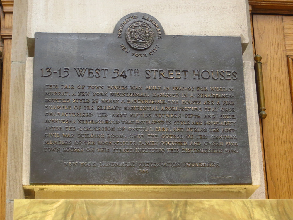 54th St. House Histories