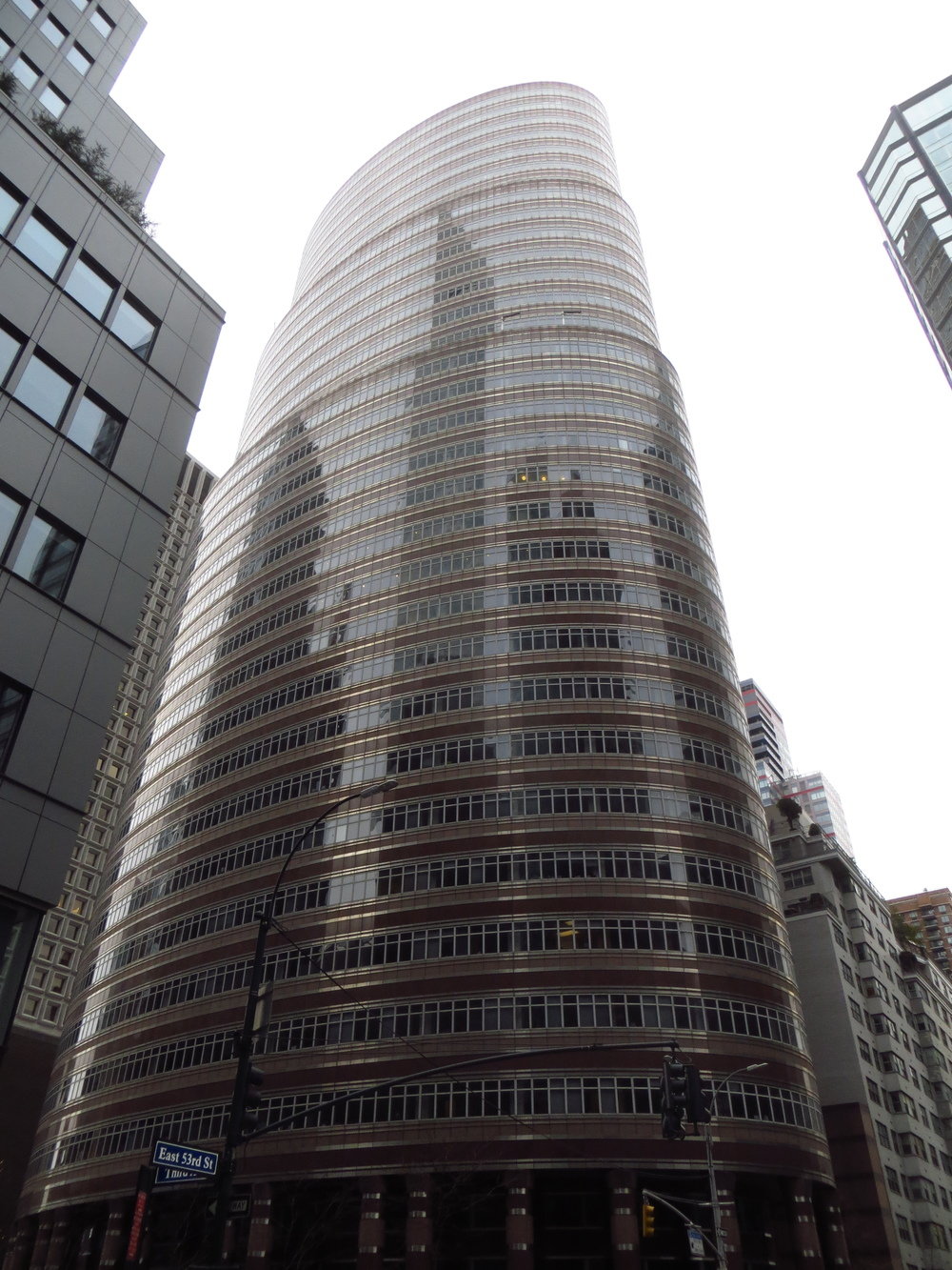 Lipstick building again (this is where Bernie Madoff worked)