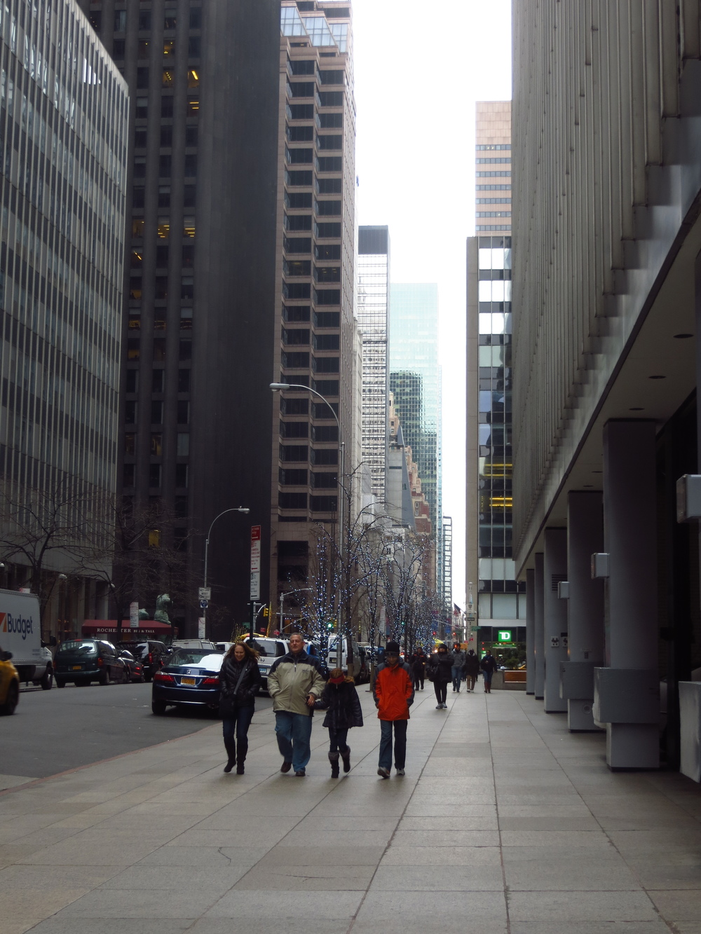 View down 52nd St.