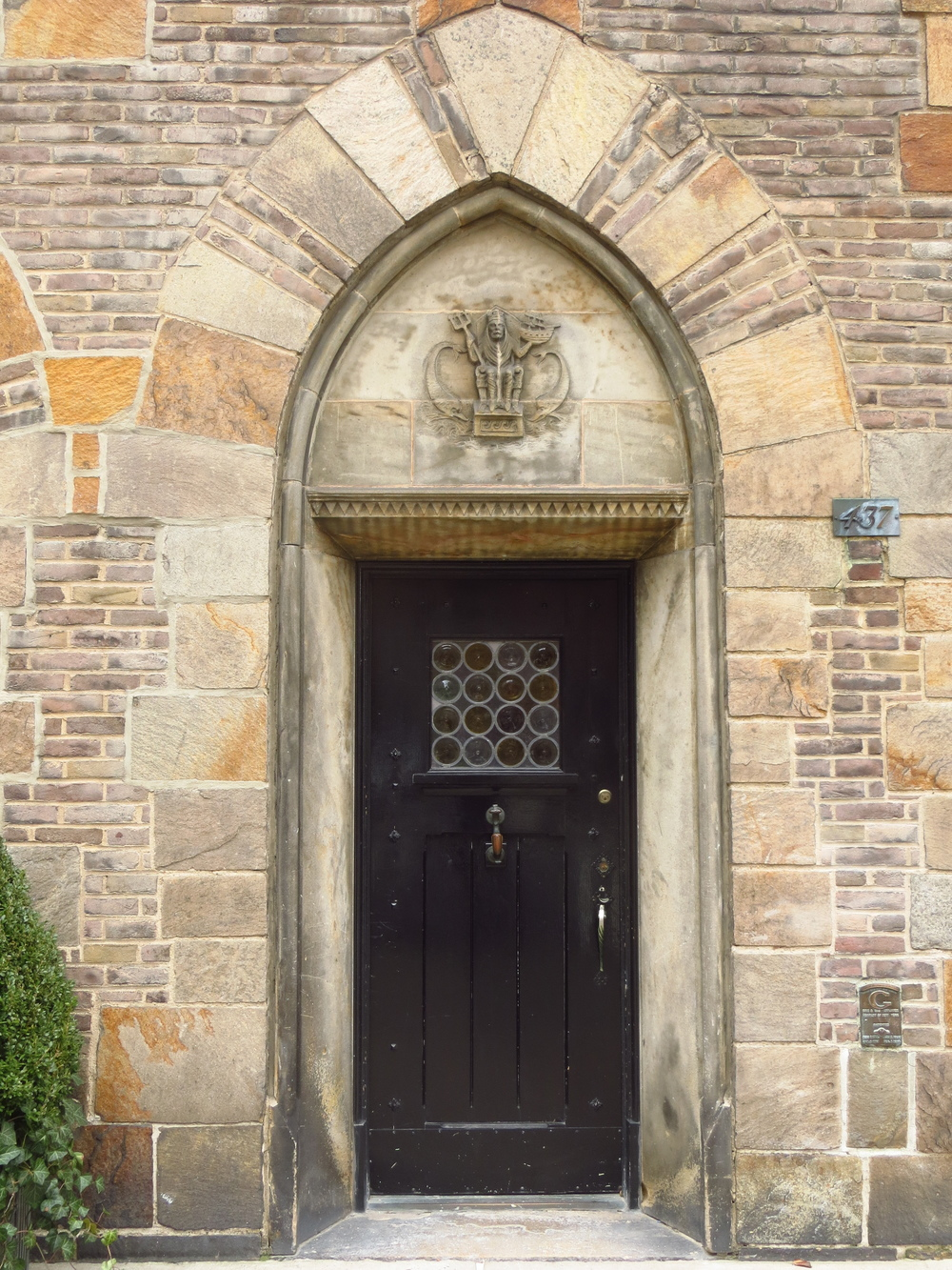 Gothic arch doorway