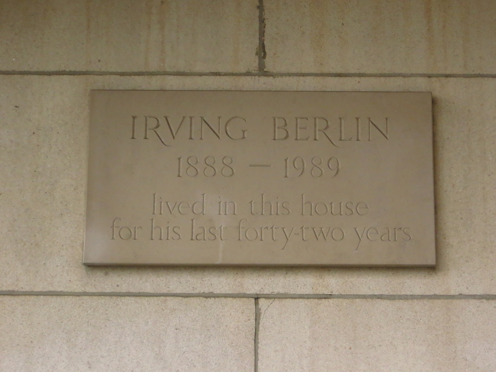 "It was the home of Irving Berlin (who wrote ""White Christmas"")"