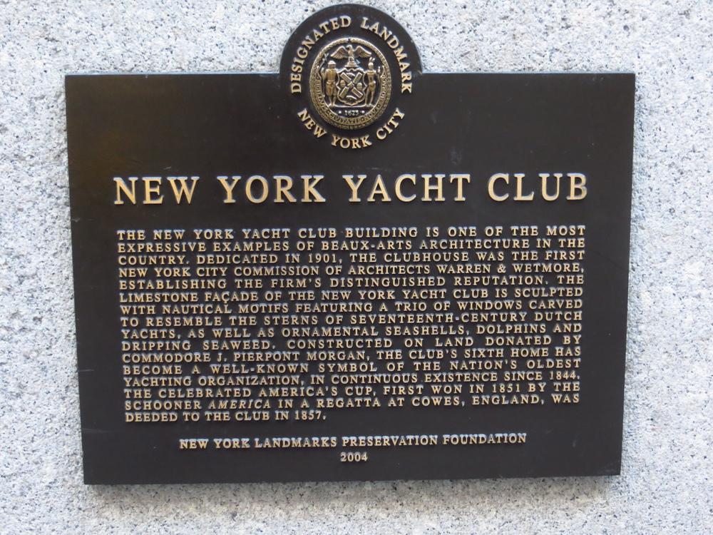 Yacht Club history