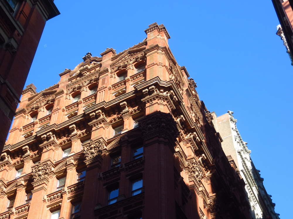 Potter Building - former home of the New York World, Joseph Pulitzer's newspaper (b. 1886)