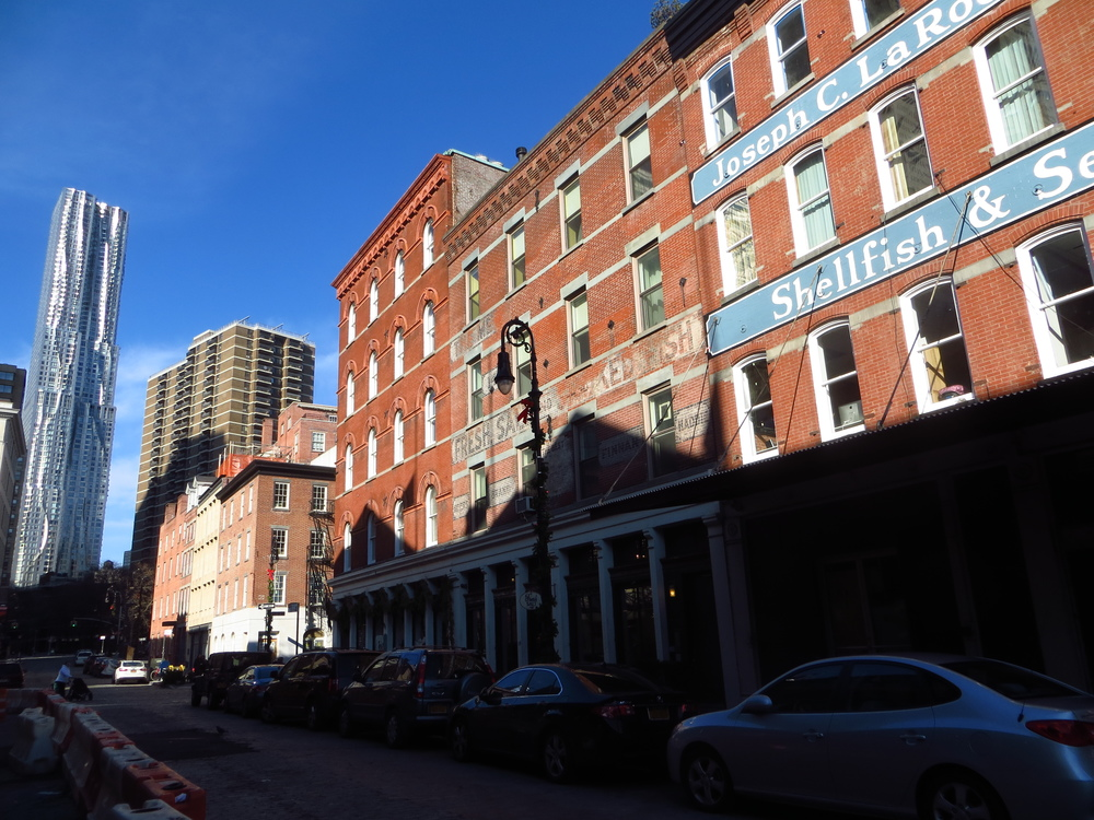 South Street Seaport buildings