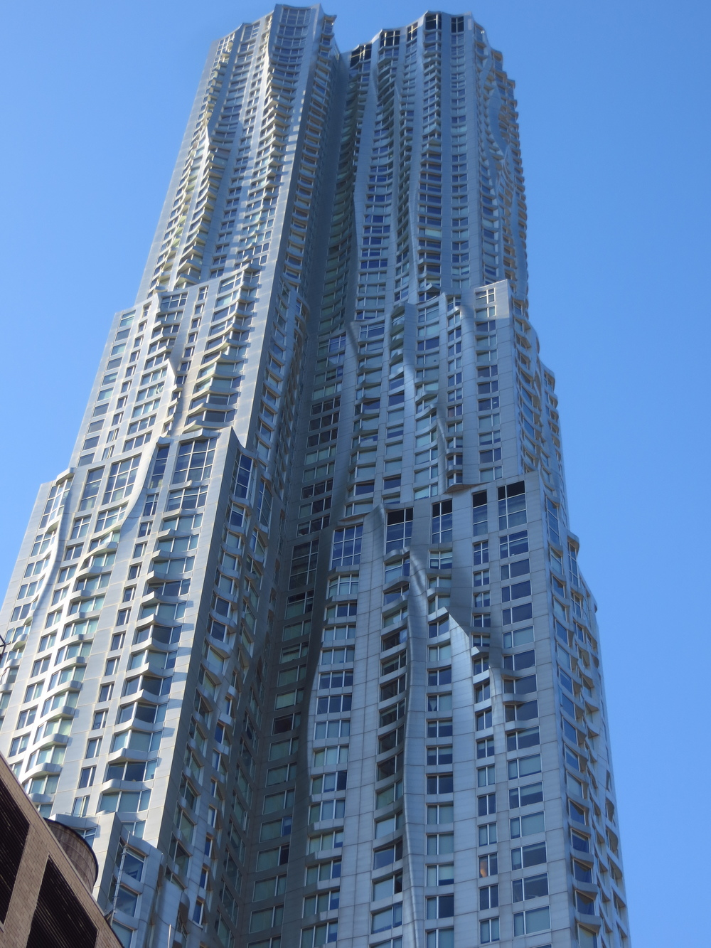 Beekman Tower (by Frank Gehry)