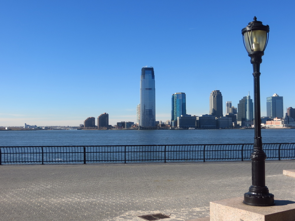 View of Hudson River & Jersey CIty