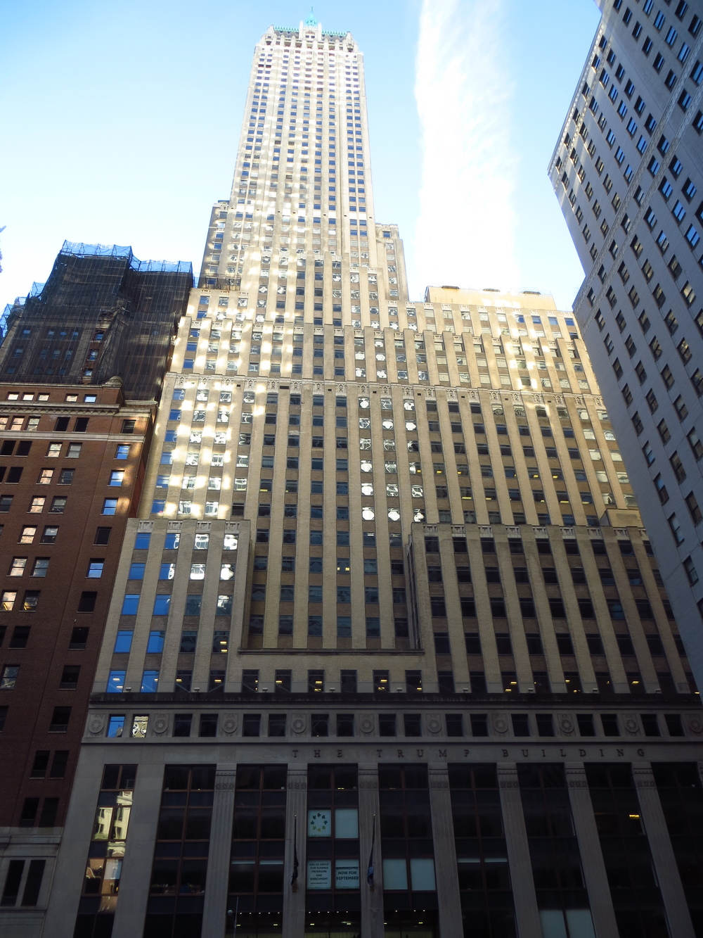 40 Wall St. (the one that lost to the Chrysler Building)
