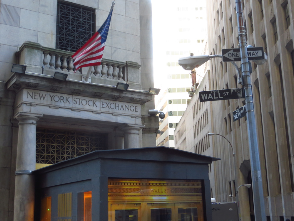 New York Stock Exchange entrance