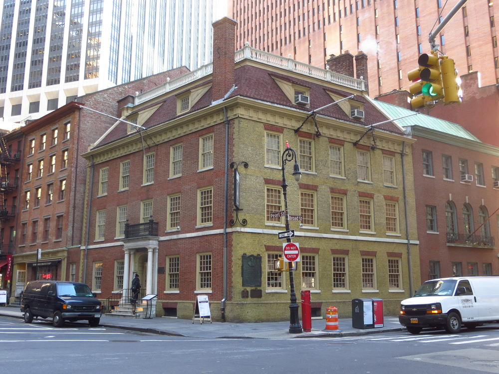 "Fraunces Tavern (est. 1762 - another contender for ""Oldest Bar in NY"")"