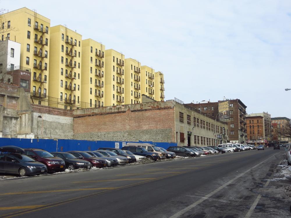 View up St. Nicholas Ave.