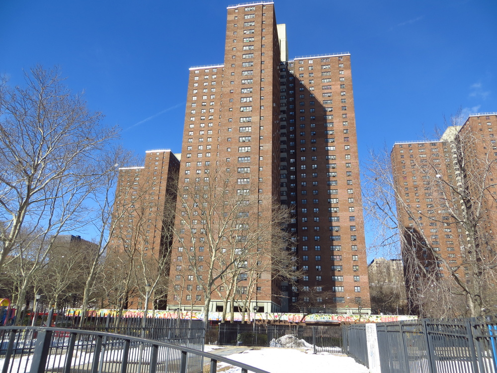 Polo Grounds Towers public housing projects