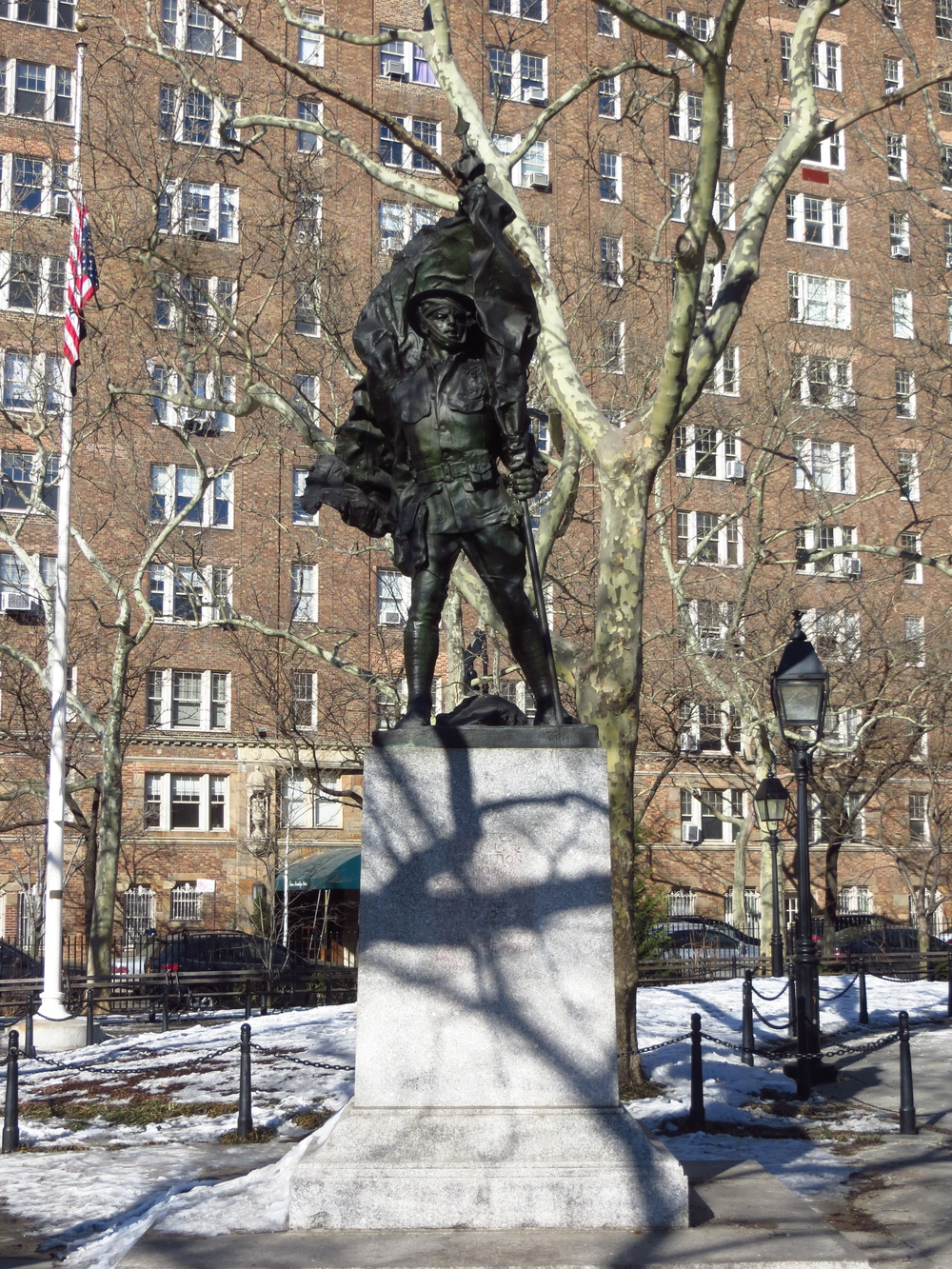 Abingdon Square Doughboy