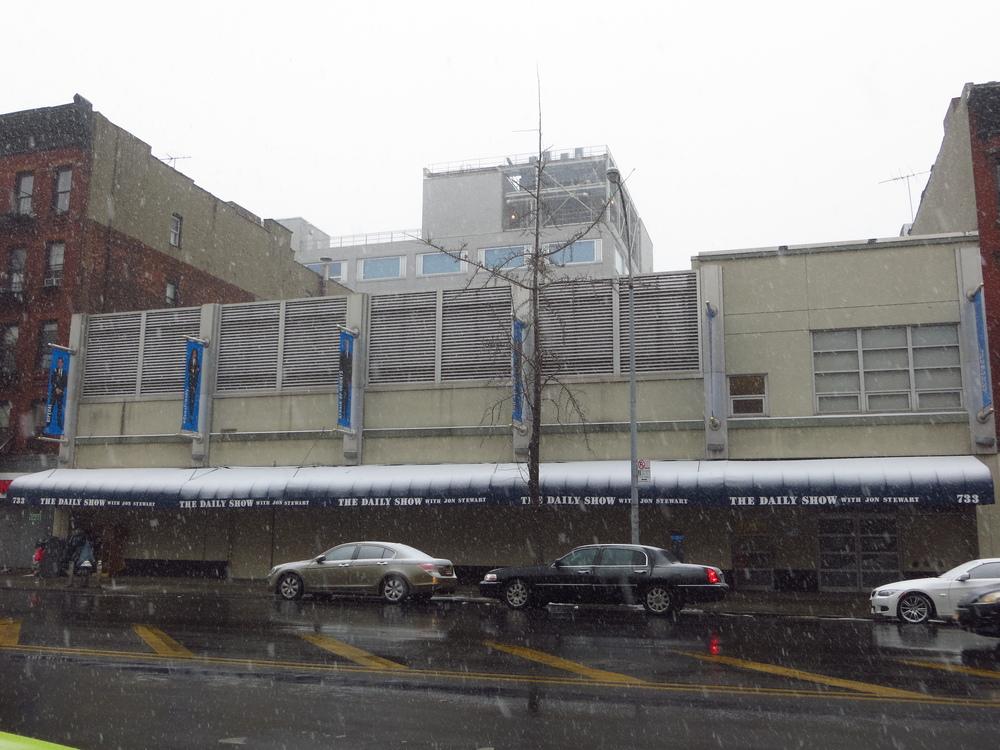 Daily Show studios