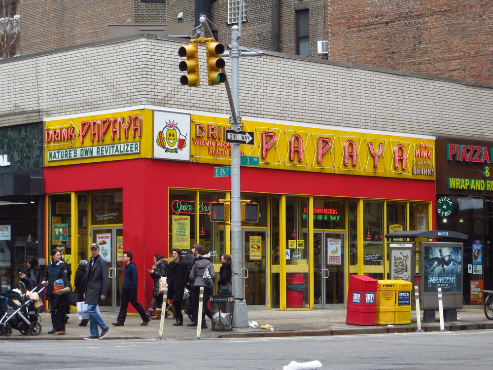 Papaya King Hot Dogs