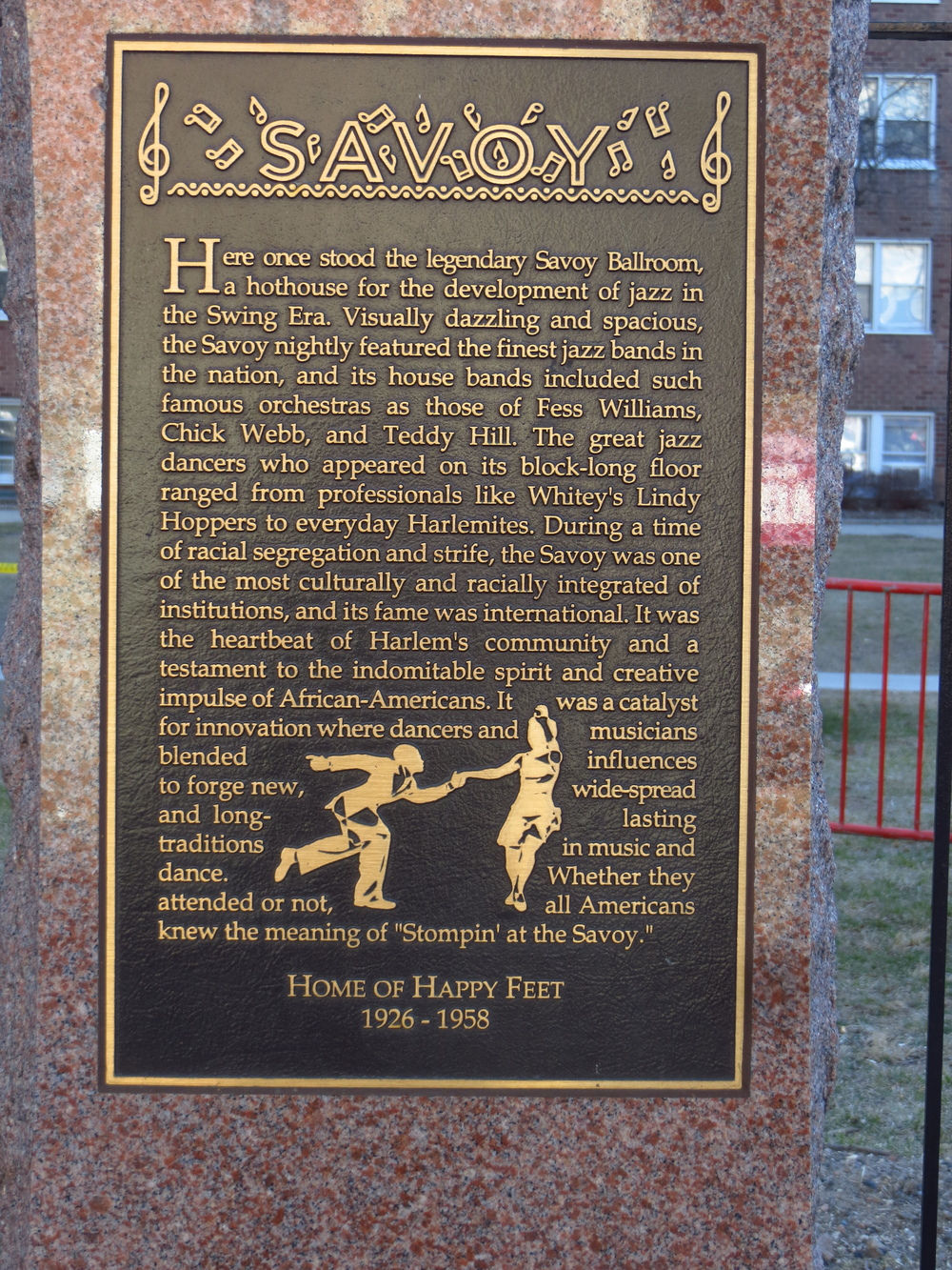 Former site of the Savoy Ballroom