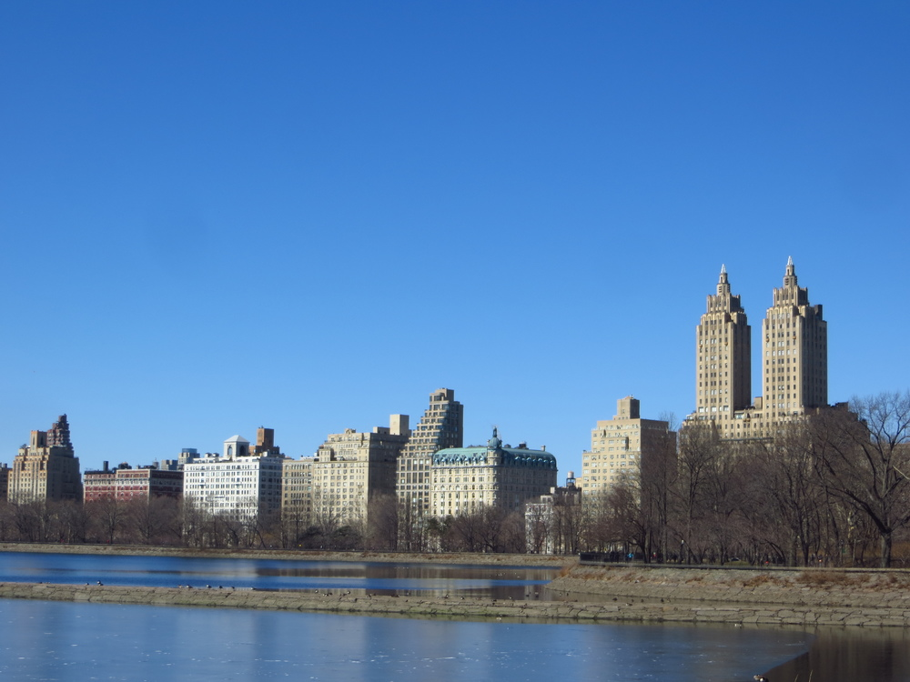 View of the Upper West Side from the Reservoir