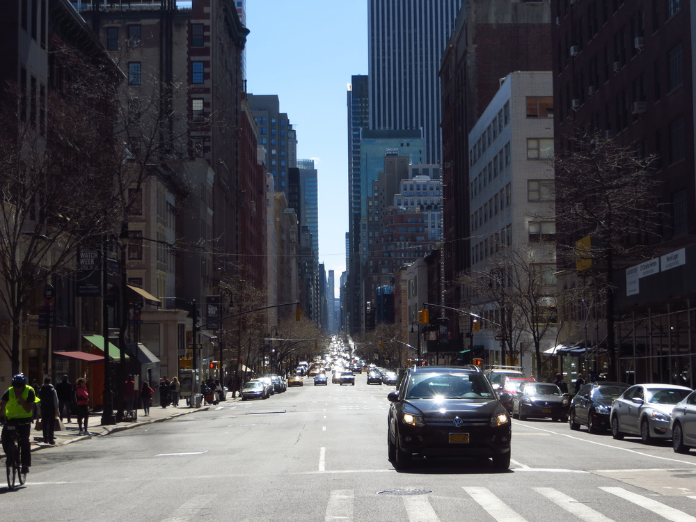 View down Madison Avenue