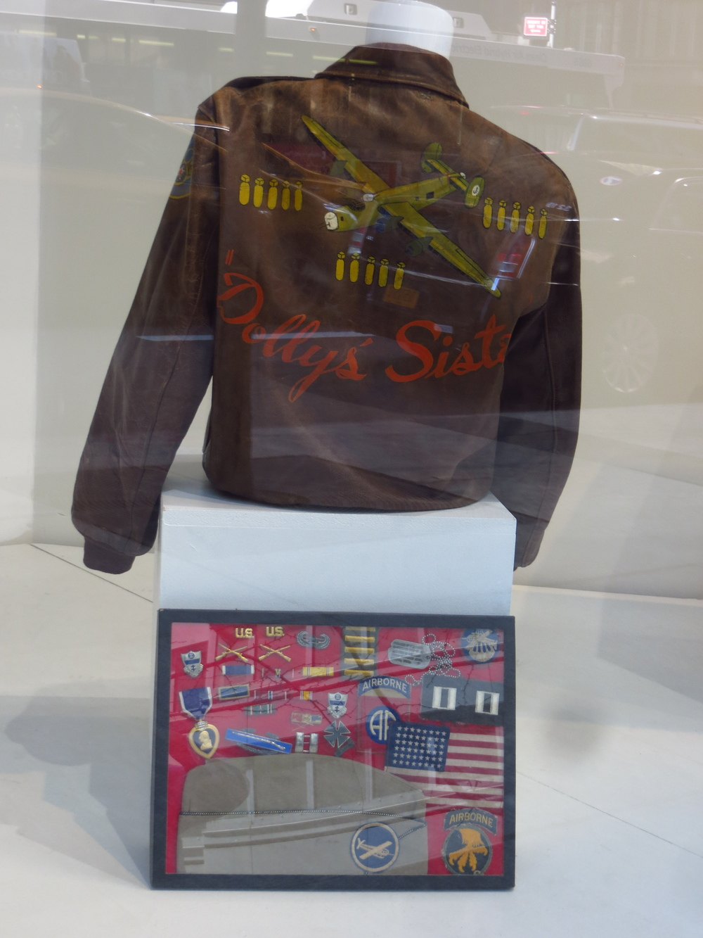 WWII Bomber Jacket for auction