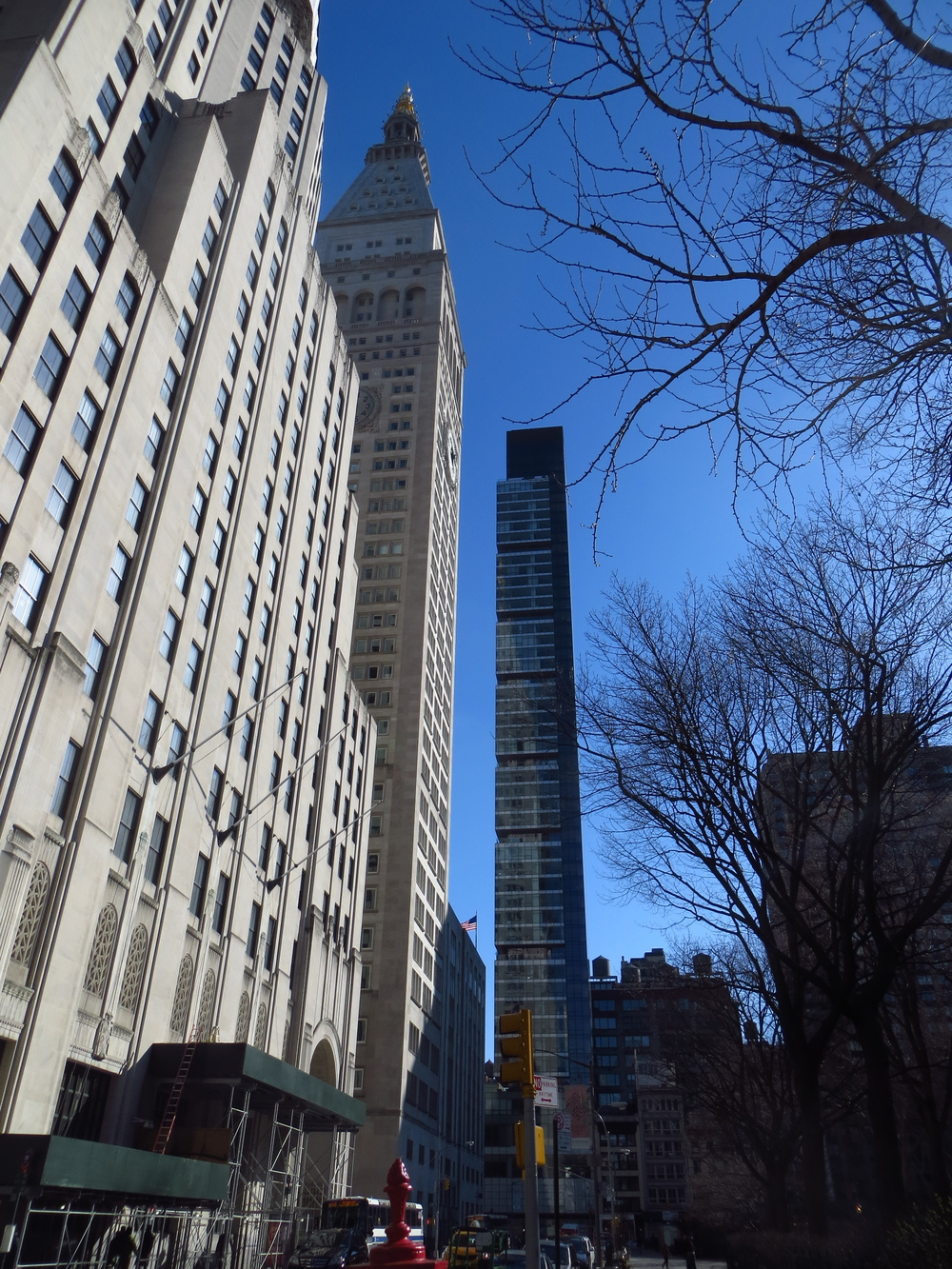 Towers along Madison Square Park