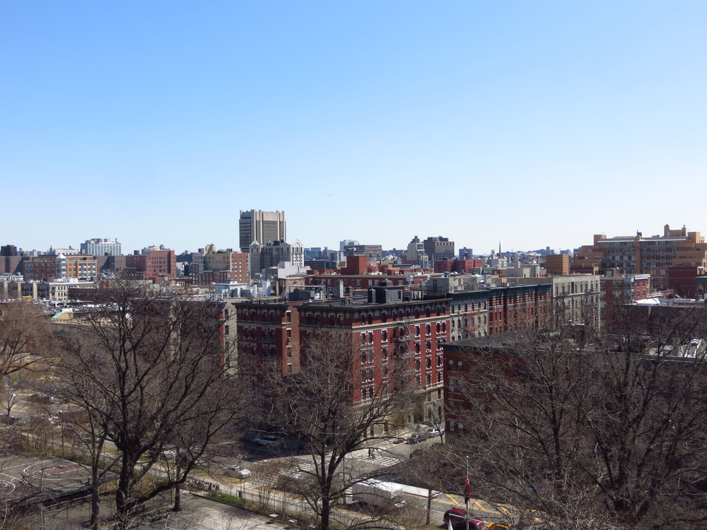 View from Morningside Heights into Harlem