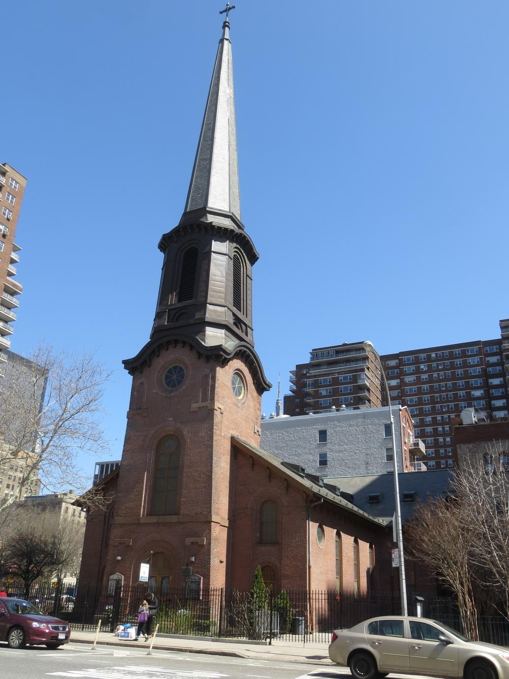 Tall steeple
