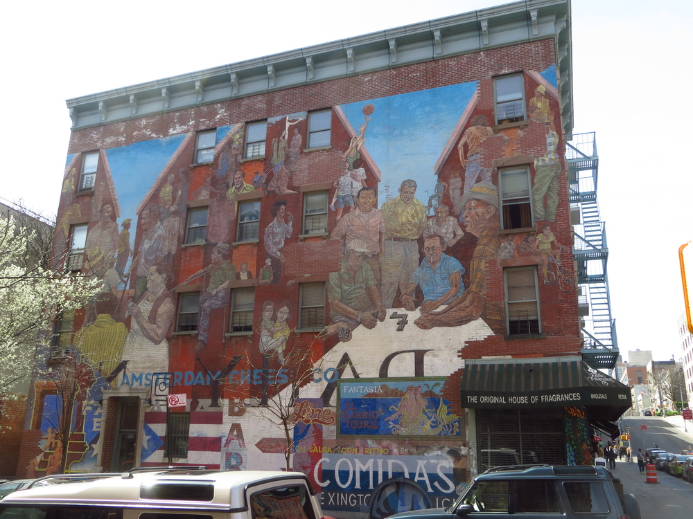 East Harlem mural