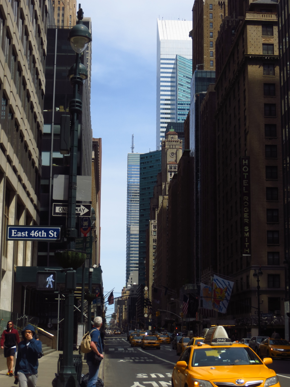 View up Lexington Avenue