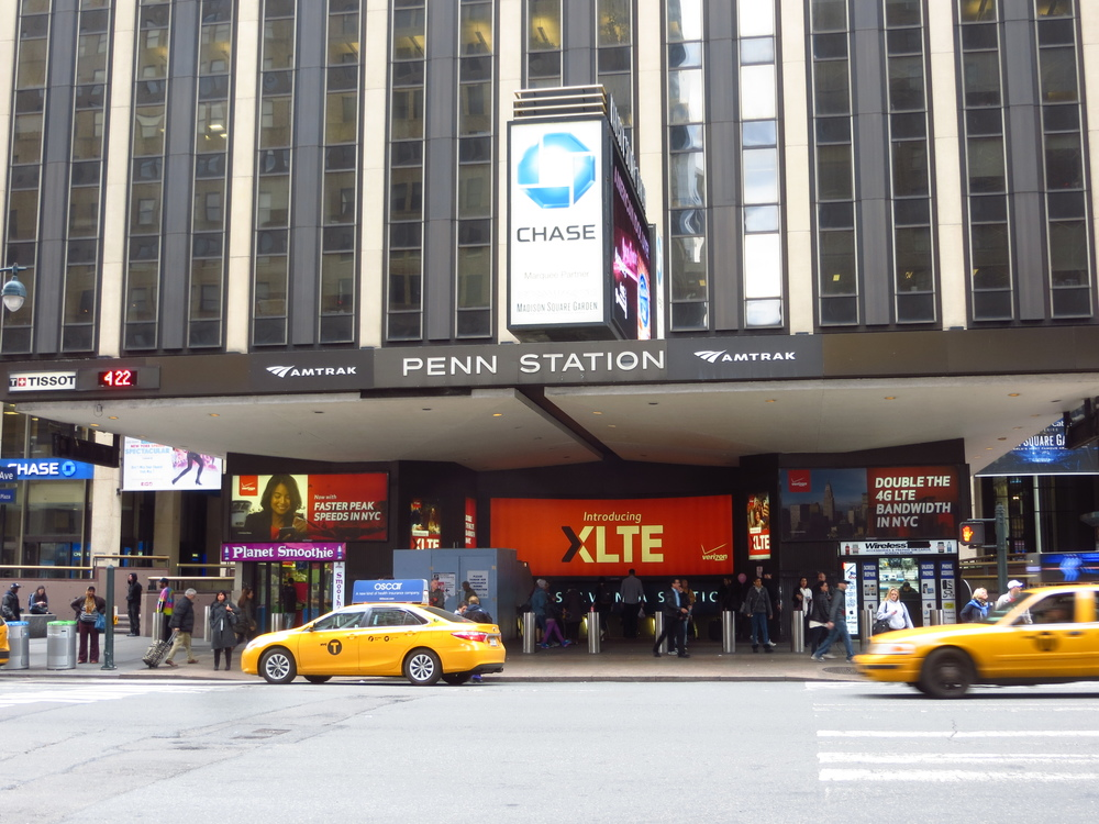 I didn't have it in me to do Times Square AND Penn Station in one day