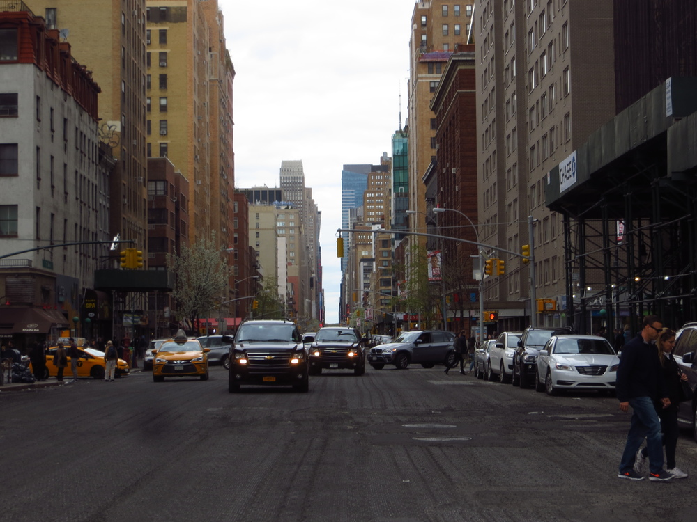 View up 7th Avenue
