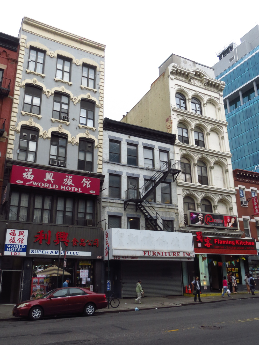 Bowery buildings
