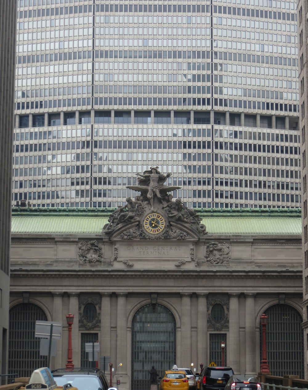 Grand Central Terminal front