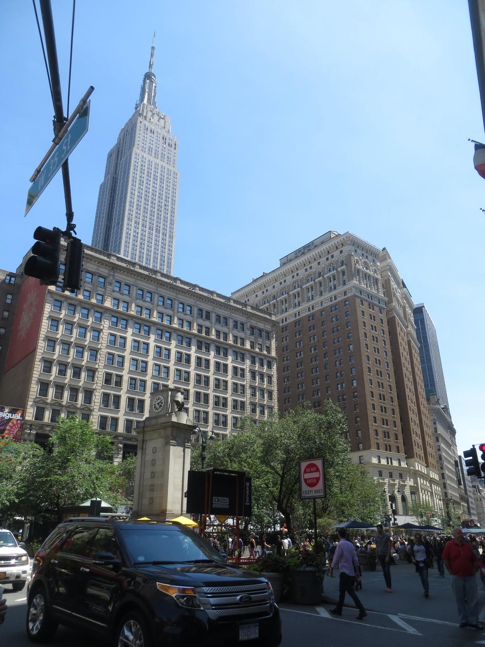 Walking Manhattan