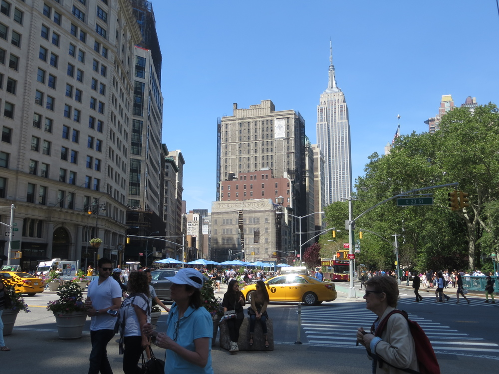 View north at Madison Square