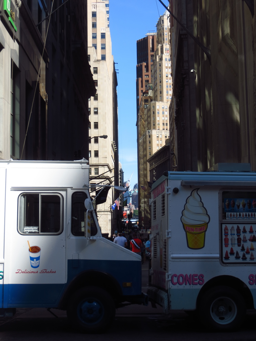 Wall Street and Ice Cream