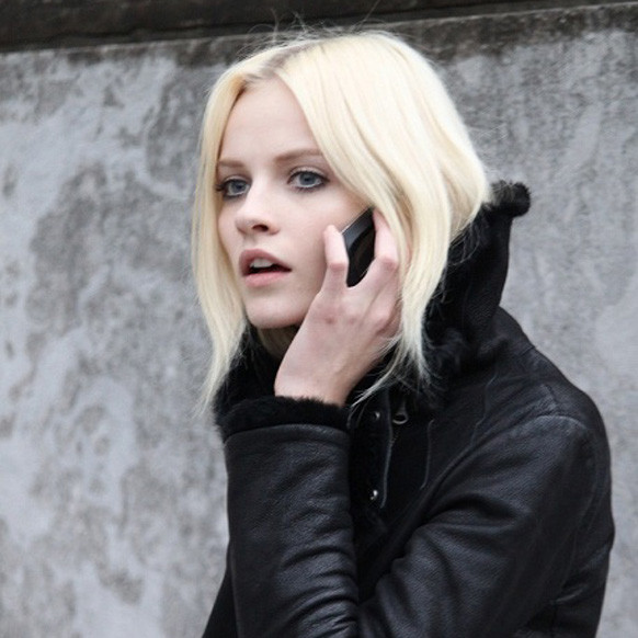 Ginta Lapina via Into The Gloss