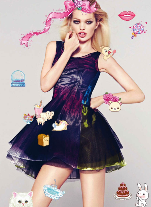 Daphne Groeneveld in Harper's Bazaar Spain April 2013