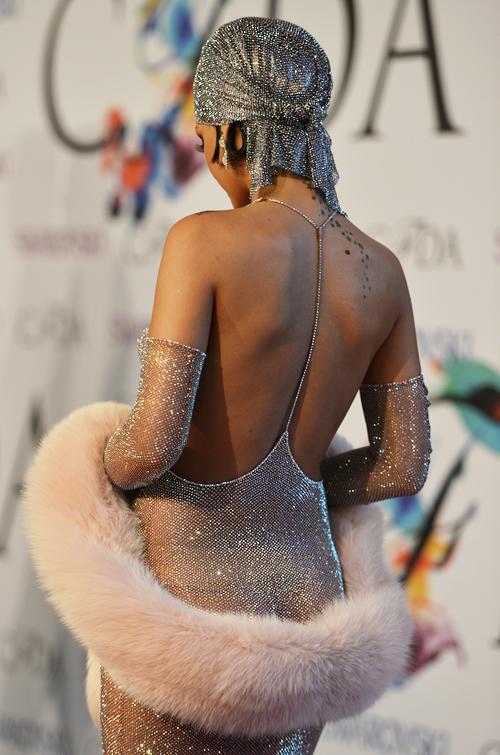 Rihanna by Tommy Ton at the 2014 CFDA Awards.jpg
