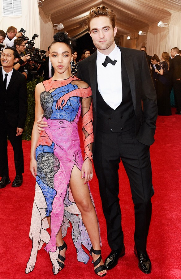FKA TWIGS in CHRISTOPHER KANE, with ROBERT PATTINSON