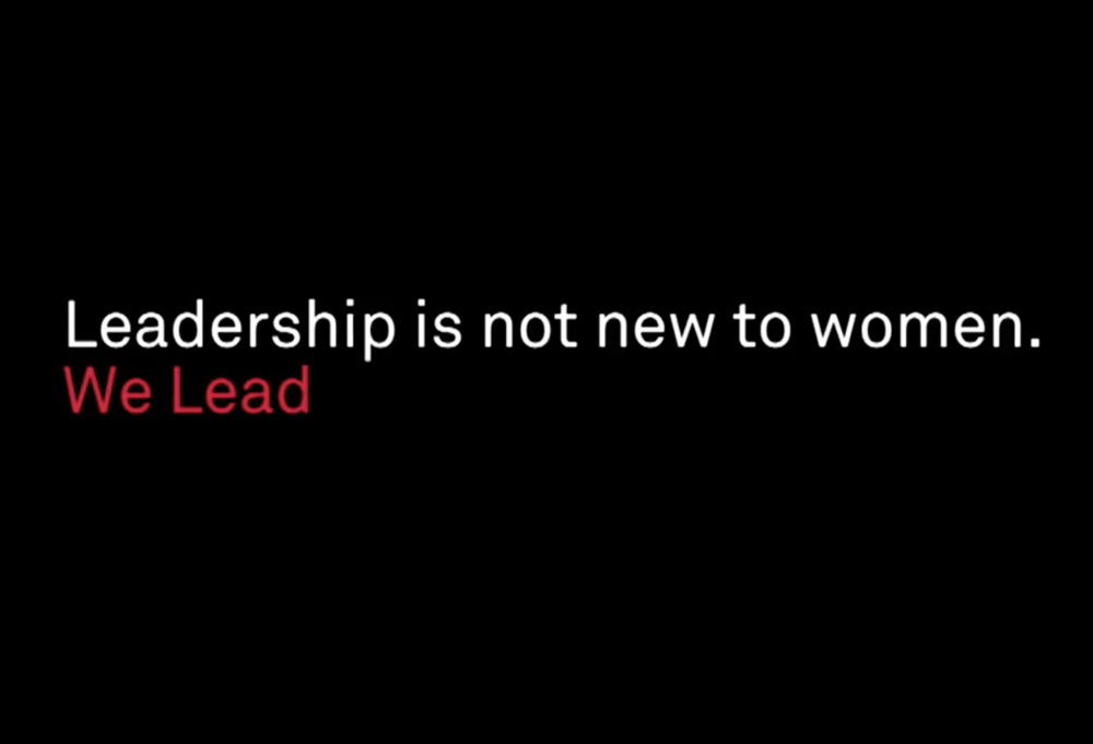 We Lead: Women are Essential in Leadership Video S&P Global -