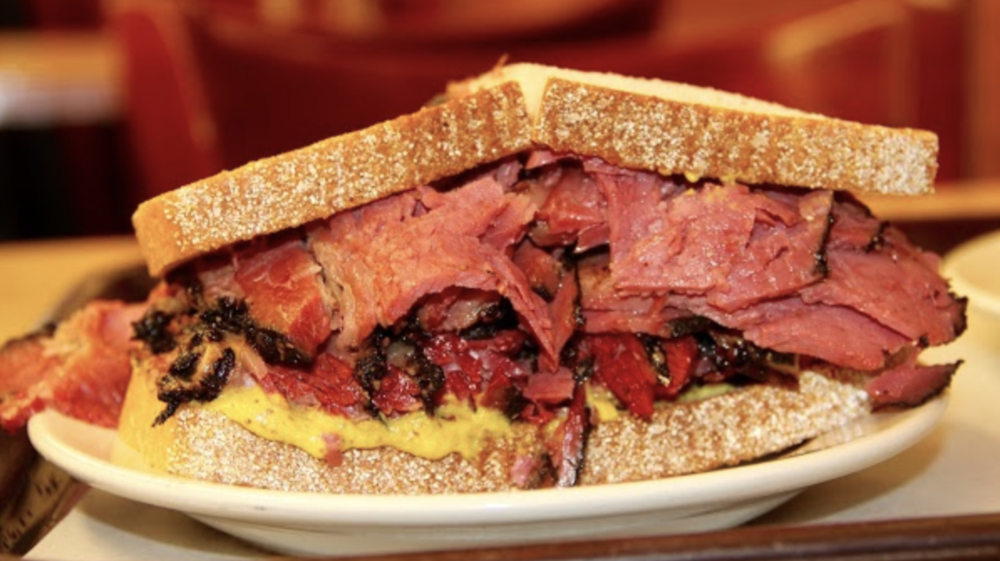 The Purchasing Power of Pastrami Final Project for News, Narrative & Design I Class  -