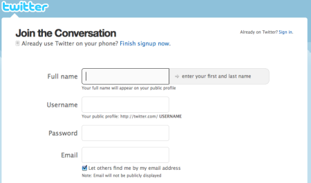 Sign-up-for-Twitter