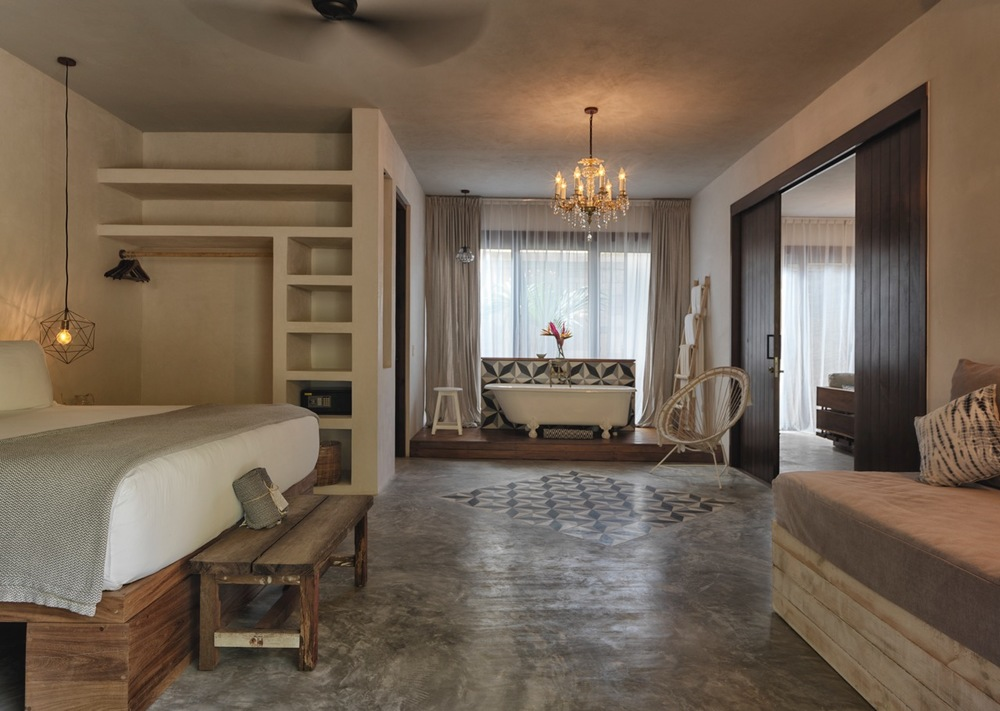 Villa master suite - groundfoor