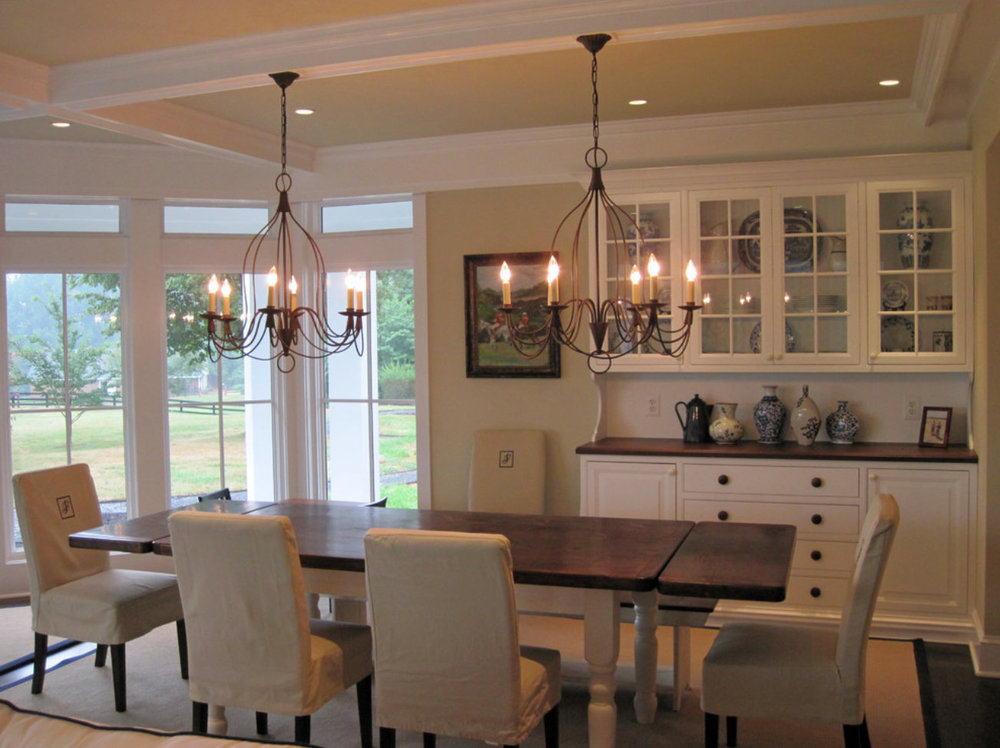 Custom Dining Room Cabinetry Built Ins 4