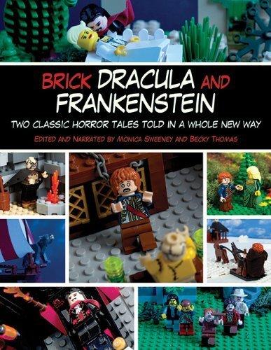 Brick Dracula and Frakenstein
