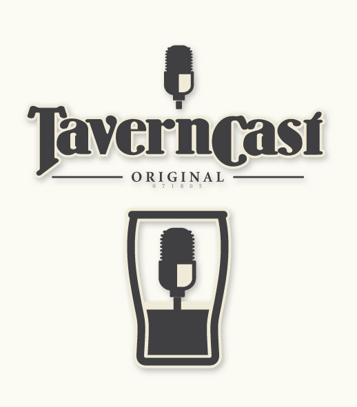 Logo series for TavernCast, a popular podcast about World of Warcraft.